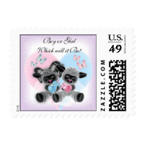 Black Sheep Baby Reveal Party Postage