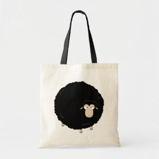 Black sheep tote bags