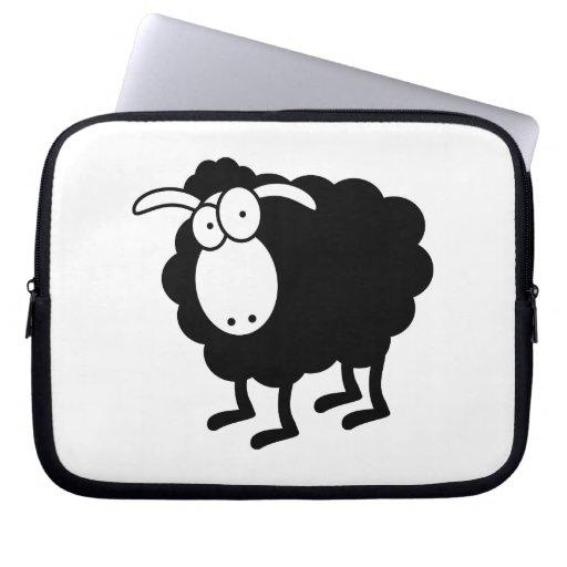 Black Sheep Bag Laptop Computer Sleeve