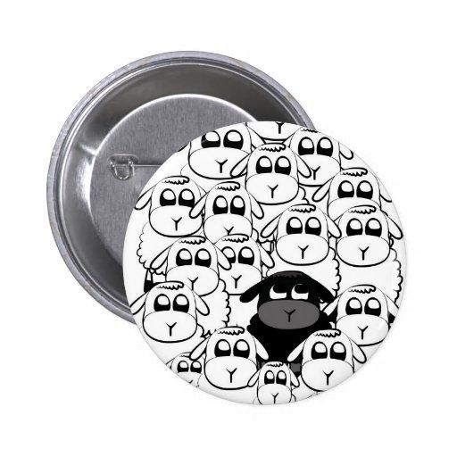 Black sheep pin