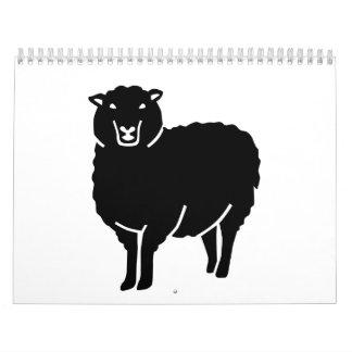 Black sheep calendar