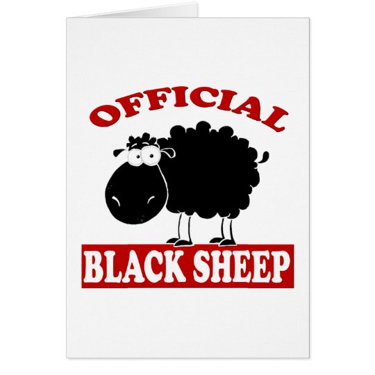 Black Sheep Card