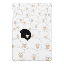 Black sheep case for the iPad mini