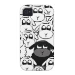 Black sheep Case-Mate iPhone 4 covers