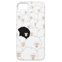 Black sheep iPhone SE/5/5s case