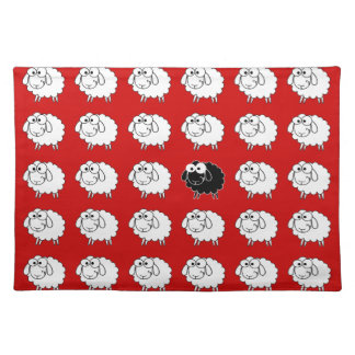Black Sheep Cloth Placemat