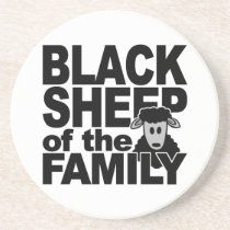 BLACK SHEEP coaster
