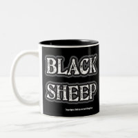 Black Sheep Coffee Mug mug