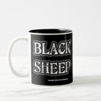 Black Sheep Coffee Mug mug