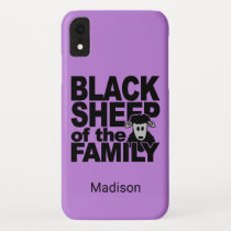 Black Sheep custom name & color phone cases