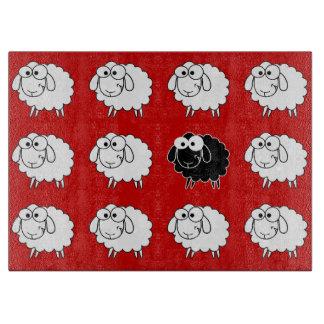 Black Sheep Cutting Board