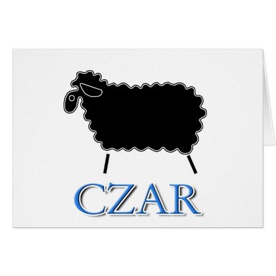 Black Sheep Czar Card