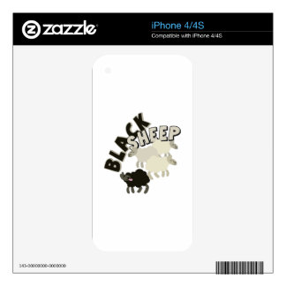 Black Sheep Decal For The iPhone 4
