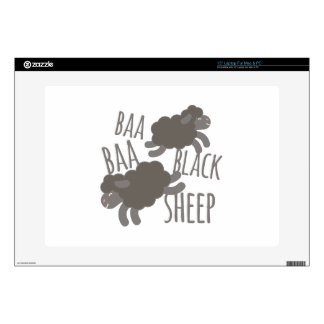 """Black Sheep Decals For 15"""" Laptops"""