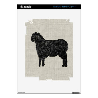 Black Sheep Decals For iPad 3