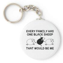 Black Sheep Family Keychain