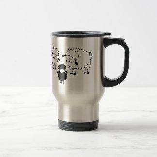 Black sheep family mugs