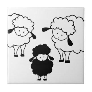 Black sheep family tile