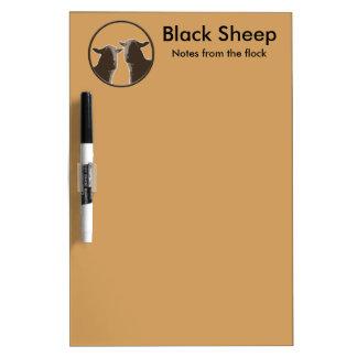 Black Sheep gear in sepia Dry-Erase Board