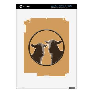Black Sheep gear in sepia iPad 3 Decal