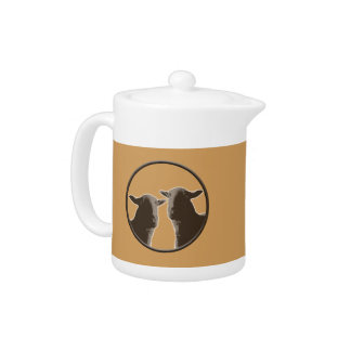 Black Sheep gear in sepia Teapot