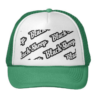 Black sheep hat on repeat