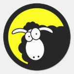Black Sheep Inside Sticker