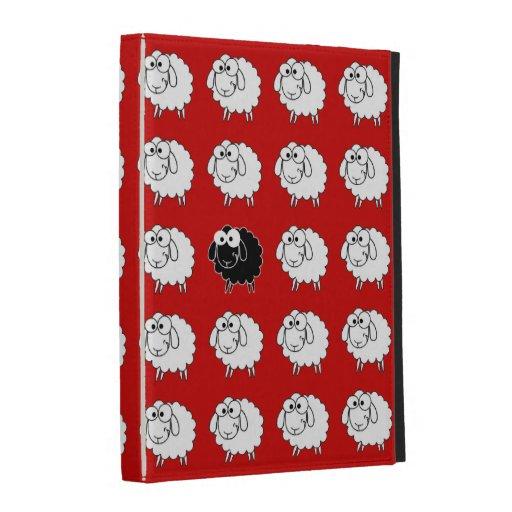 Black Sheep iPad Folio Case