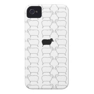 Black Sheep iPhone 4 Case-Mate Case