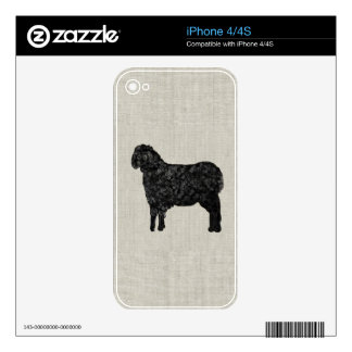 Black Sheep iPhone 4 Skin
