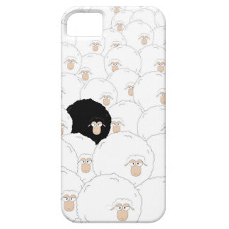 Black sheep iPhone 5 cover