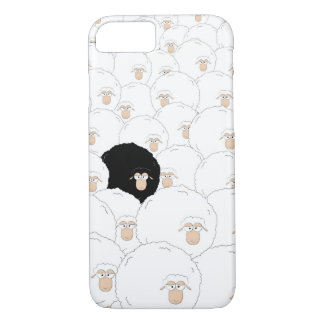 Black sheep iPhone 7 case