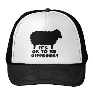 Black Sheep - It's Ok To Be Different Trucker Hat
