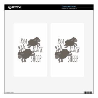 Black Sheep Kindle Fire Skin