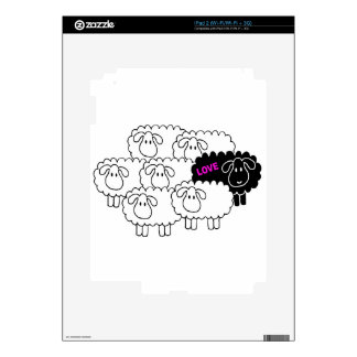 Black Sheep (Love) iPad 2 Decals
