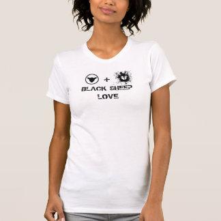 Black Sheep Love logo T T-shirt