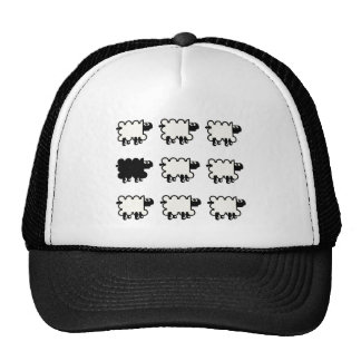 Black Sheep Mesh Hats