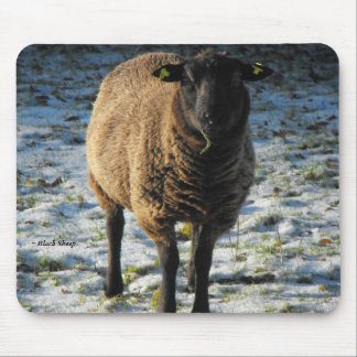 Black Sheep Mouse Mouse Pad