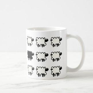 Black Sheep Classic White Coffee Mug
