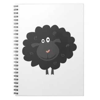 Black Sheep Spiral Note Book