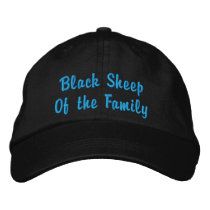 Black Sheep Of the Family Embroidered Baseball Cap