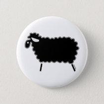 Black Sheep Pinback Button
