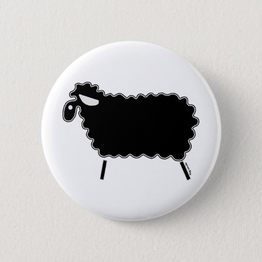 Black Sheep Pinback Button
