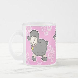Black Sheep Pink Mug
