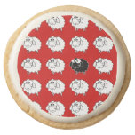 Black Sheep Round Premium Shortbread Cookie