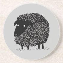 Black Sheep Sandstone Coaster