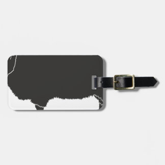 Black Sheep Silhouette Luggage Tag