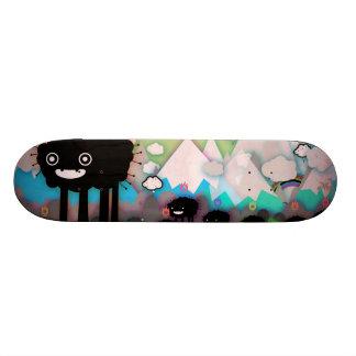 Black sheep skateboard deck
