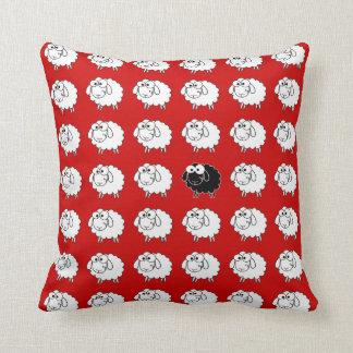 Black Sheep Throw Pillows