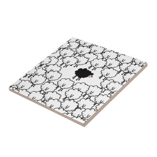 Black Sheep Ceramic Tiles